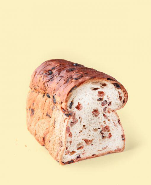 Krentenbrood half gratis tuisbezorgd
